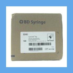 """BD Syringe with Needle Combo, 3 ml 20g x 1"""" syringes, needles, BD, disposable, polycarbonate"""