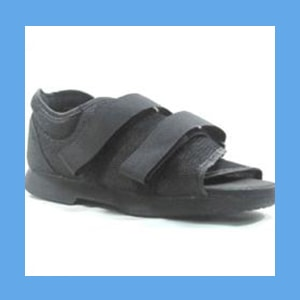 Mesh Top Post Op Surgical Shoe post-op shoe, mesh, breathable, reinforced heel