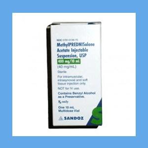 Methylprednisolone 40 mg/10 ml corticosteroid, synthetic, Methylprednisolone