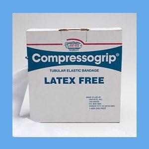 Compressogrip 3(D) elastic bandage, tubular, compression, latex free