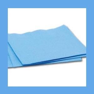 """Dynarex CSR Wraps - 12"""" x 12"""" Blue, 250/PKG. wrapping fabric, CSR Wraps, strong, repellent"""
