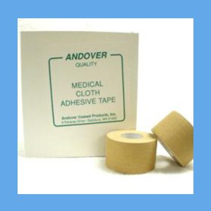 """Andover Medical Cloth Adhesive Tape 1 1/2"""" WHITE OVERSTOCK adhesive tape, cloth, medical, Andover"""