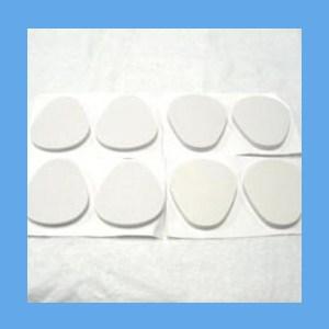 "Adhesive Metatarsal Pad #106L, 1/4"" Foam pad, metatarsal, cushion, ease foot pain, metatarsal"