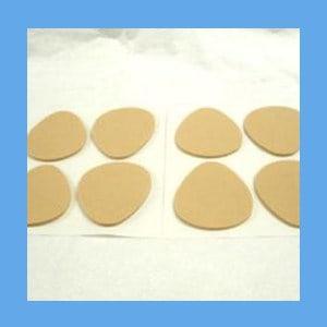 Adhesive Metatarsal Pad #106L, 1/4 inch Felt pad, metatarsal, cushion, ease foot pain, metatarsal