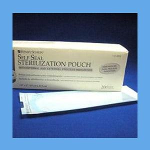 """Henry Schein Self Seal Sterilization Pouch, 3 1/2"""" x 5.25"""" - 200/Box sterilization pouches, self-sealing, triple sealed"""