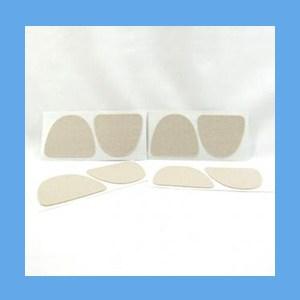 Moleskin Pads #103, Adhesive Backed moleskin, adhesive backed, cotton