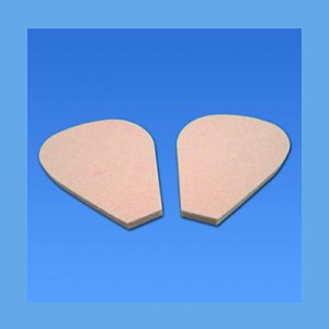Adhesive Metatarsal Pad #106A, 1/4 inch Felt pad, metatarsal, cushion, ease foot pain, metatarsal