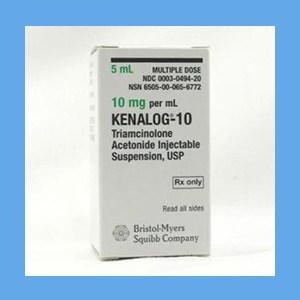 Kenalog, 10mg/ml 5 ml steroid, triamcinolone, Kenalog