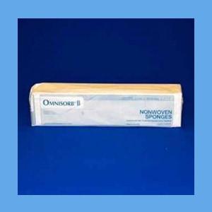 "Gauze Sponge, Non-woven, 3""x3"", 4 Ply, Non-Sterile, by Omnisorb II"