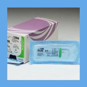 "Look Nylon Suture, 5/0, 18"", C-3 nylon suture, look"