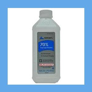 Alcohol, 70% Isopropyl , 1 Pint alcohol, isopropyl, external use