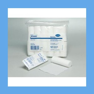 """Hartmann Conco Conforming Stretch Gauze Bandage 3"""" knitted, light compression, stretch, gauze, bandage, protects wound"""