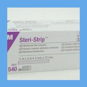 """3M Steri-Strips, 1/8"""" x 3"""" steri-strips, skin closure, non-woven elastic"""