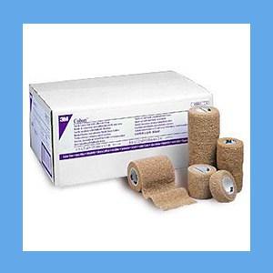 "3M Coban Bandage 2"" self-adherent, porous, non-woven polyester, elastic, Coban"