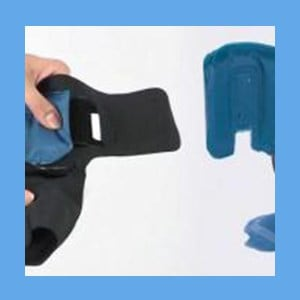 """Plantar Fasciitis Sock"""" Size Medium Fits woman 9-12.5 and Mens  7.5-11 Universal to left or right foot (same as AirCast Airheel ) Pneumatic Foot Device """"PFD"""" Size Medium Fits woman 9-12.5 and  Men 7.5-11"""
