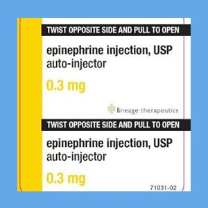 Epinephrine Auto-Inject Adult 0.3mg 2/Pk (compare to EpiPen Adult 2
