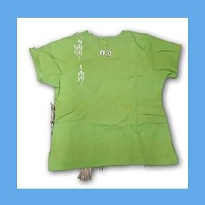 Wonder Wink Scrub Top Neo Matrix I Green Apple (EXTRA LARGE) OVERSTOCK Scrubs Top Neo Matrix I Green Apple