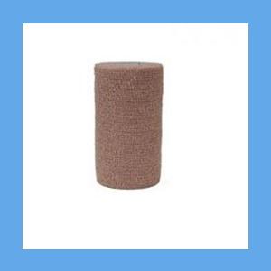 "Coflex Bandage Latex 6"" Tan OVERSTOCK Coflex Bandage 6"" x 5 yd. Size Tan (Pack of 12)"