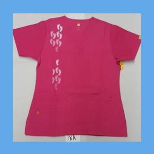 Wonder Wink Scrub Top Neo Matrix I Hot Pink OVERSTOCK Scrubs Top Neo Matrix I Hot Pink