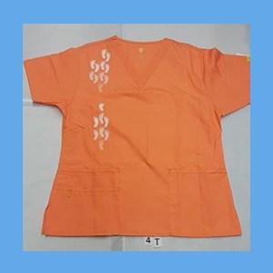 Wonder Wink Scrub Top Neo Matrix I Orange Sherbert OVERSTOCK Scrubs Top Neo Matrix I Orange Sherbert