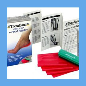 TheraBand First Step to Foot Relief Kit First Step To Foot Relief Kit