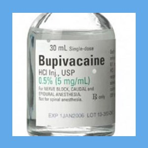 Bupivacaine 0.5% with Epinephrine SDV 30 ml. 25/Box bupivacaine 0.5% with epinephrine SDV