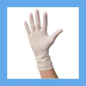 Cardinal Health Positive Touch Non-Sterile Latex Exam Gloves Positive Touch Latex Exam Gloves, Powder Free, Non-Sterile