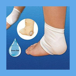 Silipos Heel/Elbow Gel Slipover Sleeve Large/XLG. #15235 Silipos Heel or Elbow Slipover Gel Sleeve