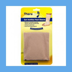 Silipos TheraStep Gel Achilles Heel Sleeve 1 Size Fits Left and Right Foot Retail Packaging 1/ Pkg. #7014 Silipos TheraStep Gel Achilles Heel Sleeve 1 Size Fits Left and Right Foot Retail Packaging 1/ Pkg.