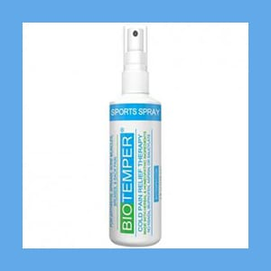 BioTemper Deep Penetrating Pain Relief Spray 4 Oz. (Like Biofreeze)- NEW PRODUCT BioTemper Deep Penetrating Pain Relief Spray 4 Oz. (Like Biofreeze)