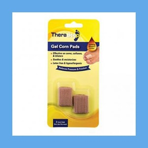 Silipos TheraStep Gel Corn Pads One Size Fits Most 2/ Pkg.- Retail Packaging #7000 Silipos TheraStep Gel Corn Pads One Size Fits Most 2/ Pkg.- Retail Packaging #7000